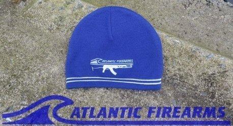 Atlantic Firearms Beanie Cap-Blue