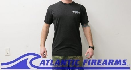 Atlantic Firearms Logo T-Shirt BLACK