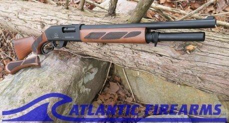 Black Aces Tactical Pro Series Lever Action Shotgun Walnut