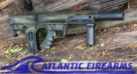 Black Aces Tactical Bullpup Shotgun- Green- Left Hand- BATBPEGLH