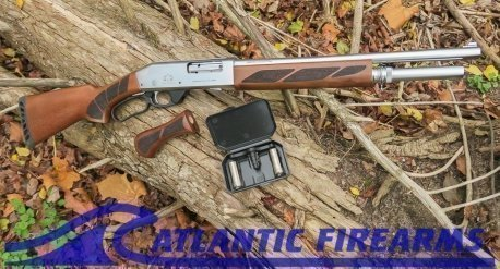 Black Aces Tactical Shotgun-Lever Action-Silver Walnut