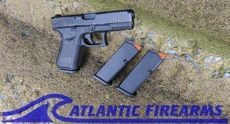 Glock 19 Gen5 9mm Pistol- PA195S203