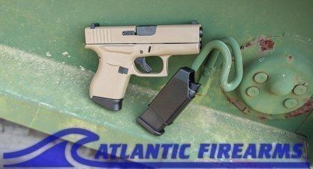 Glock 43 9MM Pistol FDE- PI4350201FDE