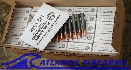 Red Army Standard 7.62x54R Ammunition- 500 Round Case