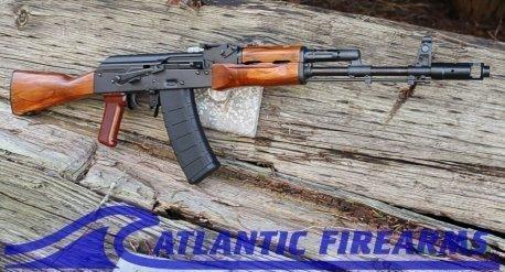 Riley Defense AK74 Rifle- Teak Wood Classic