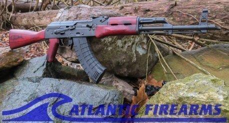 AK47 RW Rifle w/ Red Wood Stock Riley Defense