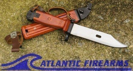 Russian AK-47 Bayonet & Scabbard-6x4-Tula-NRA Excellent