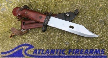 Russian AK-47 Bayonet & Scabbard-Type 1 Transitional-NRA Good