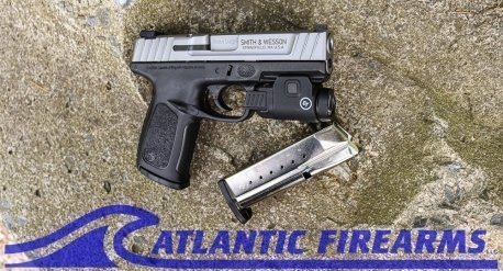 Smith & Wesson SD9 9MM Pistol- Crimson Trace Bundle- 13050
