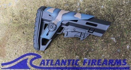 Typhoon Defense Collapsible Stock- Bluecote