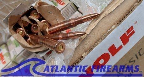 Wolf 7.62x54Military Classic  Ammunition- 500 Round Case