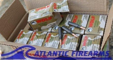 Wolf Ammo AK 74 5.45 X 39 750 Round Case