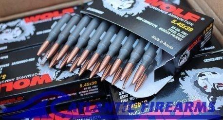 Wolf Performance Ammunition 5.45x39 1000 Round Case