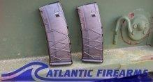 AR15 30 Round Magazine- Polycarbonate Smoke-2 pack