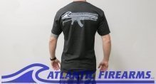 Atlantic Firearms Logo T-Shirt BLACK