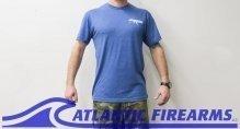 Atlantic Firearms Logo T-Shirt BLUE
