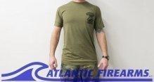 Atlantic Firearms PALM T-Shirt GREEN
