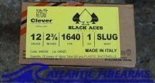 Black Aces Tactical 12ga Slug- 200 Round Case