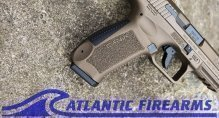 Canik TP9DA 9MM Pistol- Burnt Bronze- HG4873B-N