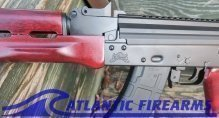 PSA AK-P Red Wood SBA4 Pistol Black - Palmetto State Armory 5165490429