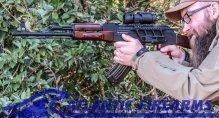 Romanian AK-47 Rifle w/ Russian Red Furniture
