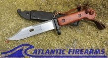 Russian AK-47 Bayonet & Scabbard-6x3-NRA Excellent