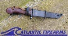 Russian AK-47 Bayonet & Scabbard-6x3-NRA Good