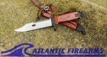 Russian AK-47 Bayonet & Scabbard-6X4-Izhevsk-NRA Excellent