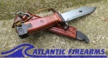 Russian AK-47 Bayonet & Scabbard-Type 3-Izhevsk-NRA Good