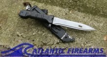 Russian AK-74 Bayonet & Scabbard-Izhevsk-True Black-NRA Very Good