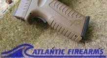 SPRINGFIELD XDM 10mm  Flat Dark Earth Pistol -XDM94510FHCE