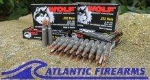 Wolf .223 AR15 Rifle Ammo 1000 Round Case