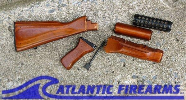 AK-47 Rifle Stock Set Honey Laminate