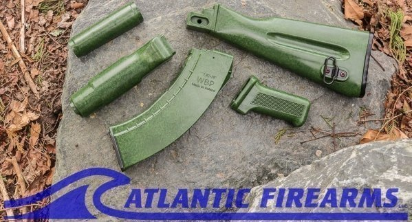AK Border Guard Bakelite Style stock set-Elevenmile Arms