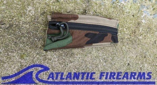 AK Triangle Stock Pouch-Woodland Camo-Rifle Dynamics