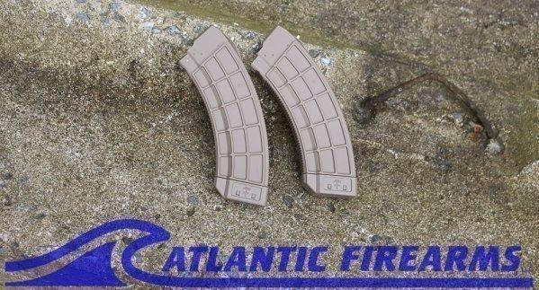 AK30 Magazine-Flat Dark Earth-US Palm-2 PACK