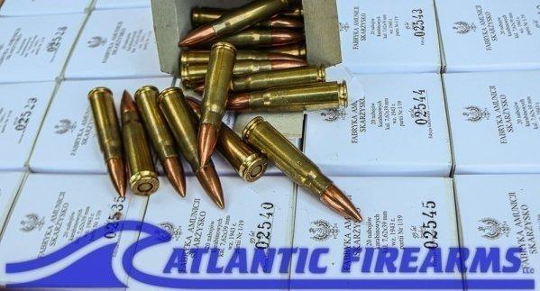 AK47 Brass Ammunition 762X39 Mesko/ Poland