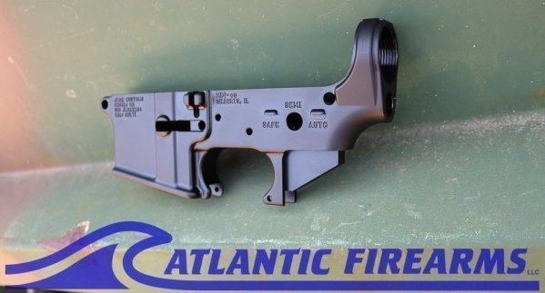 AR-15 M4 Forged Lower Receiver - JC Logo - JMac Customs