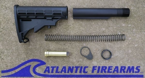 AR15 Mil-Spec M4 Style 6 Position Stock image