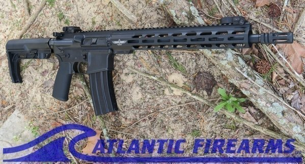"AR15 Rifle 14.5"" NON-NFA  Solutionary Lifestyle Edition-Head Down Firearms"