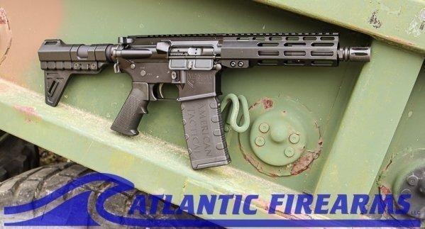 ATI Mil-Sport 5.56 AR15 Pistol- ATIG15MS556ML7