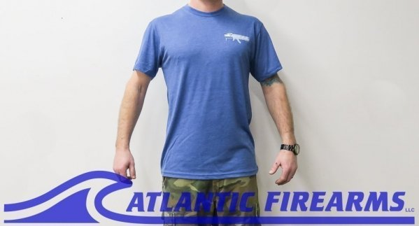 Atlantic Firearms Logo T-Shirt BLUE