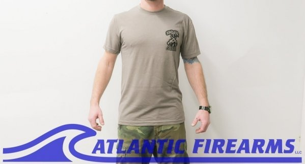 Atlantic Firearms PALM T-Shirt GRAY