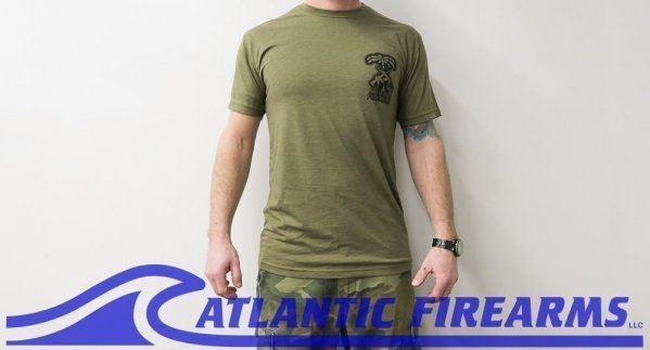 Atlantic Firearms PALM T-Shirt GREEN