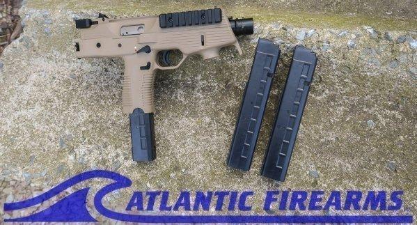 B&T TP9 Pistol TAN-Mag Promo
