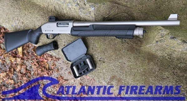 Black Aces Pro Series X Marine Nickel Shotgun- BATPSXPSN