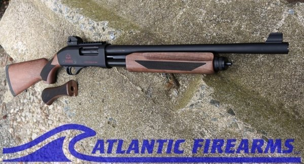 Black Aces Pro X Tactical Pump Shotgun Black Walnut- BATPSXW