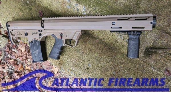 Black Aces Tactical Bullpup Pump Shotgun- FDE- Left Hand- BATBPPFDELH