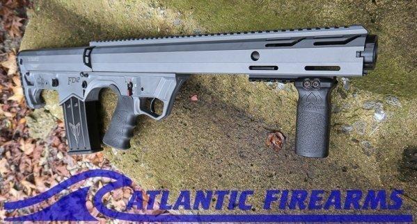 Black Aces Tactical Bullpup Pump Shotgun- Gray- Left Hand- BATBPPGRLH