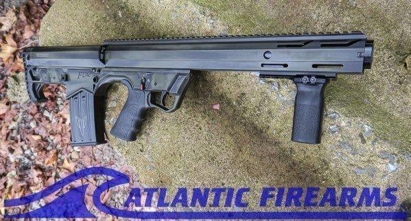 Black Aces Tactical Bullpup Pump Shotgun- Green- Left Hand- BATBPPDGRLH